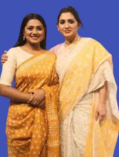 Bipasha Hayat  With Nusrat Imroz Tisha