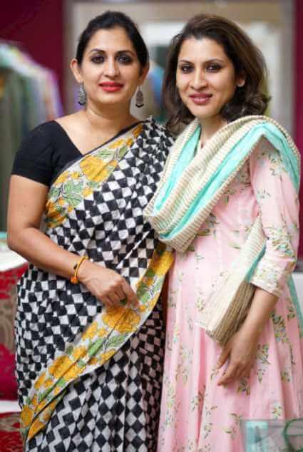 Bipasha Hayat with Natasha Hayat Photo