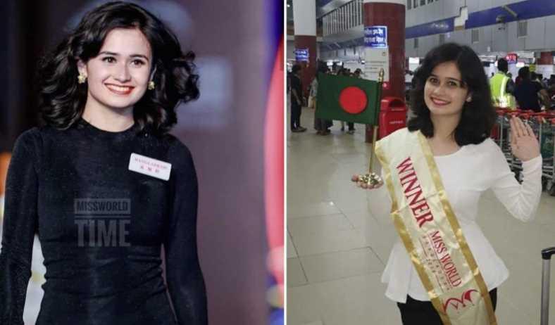 Miss World Bangladesh winner 2018 (Jannatul Ferdous oishee)