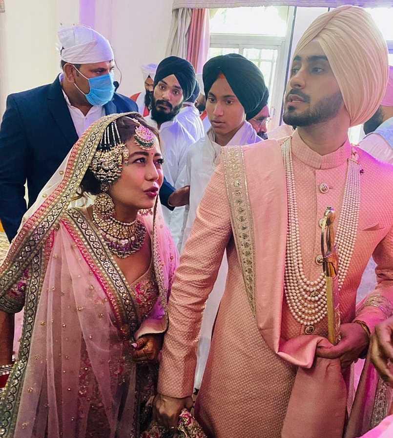 Neha Kakkar & her Husband Rohanpreet Singh