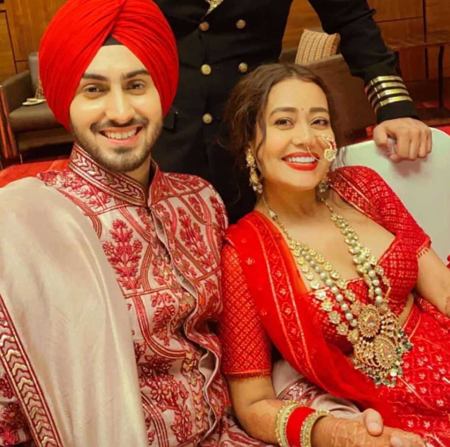 Neha Kakkar wedding photo