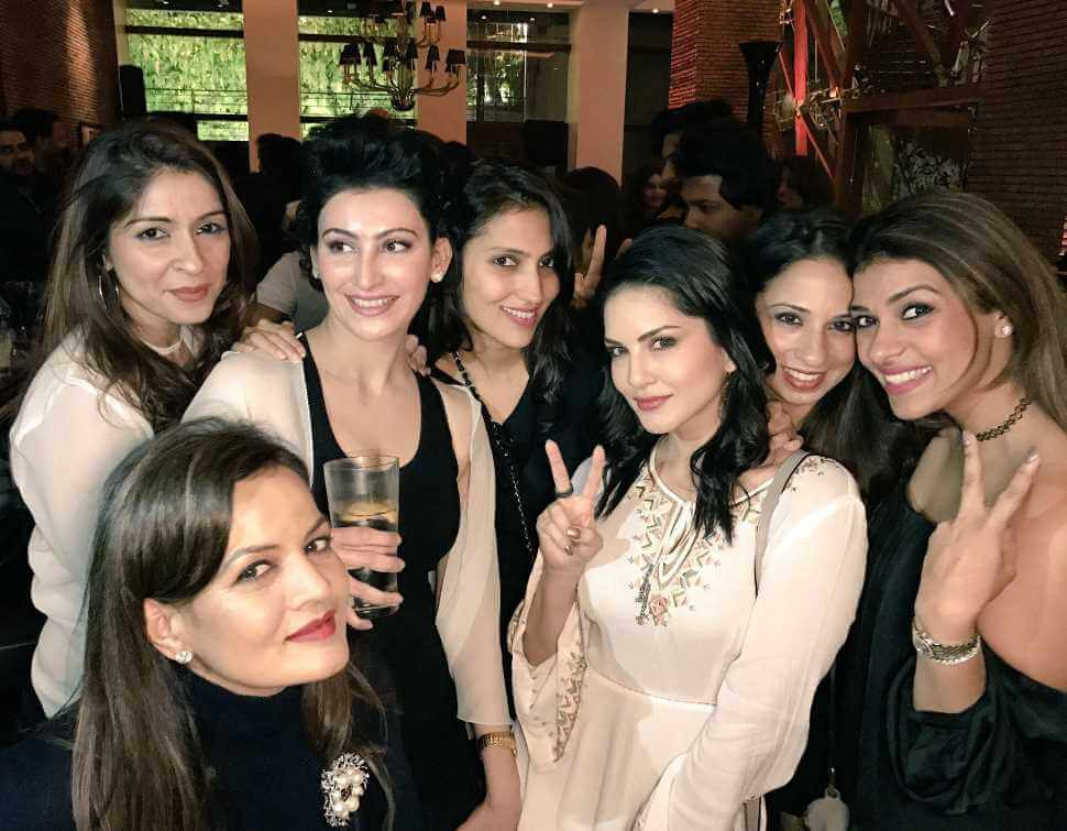 Sunny Leone With Co- Artist