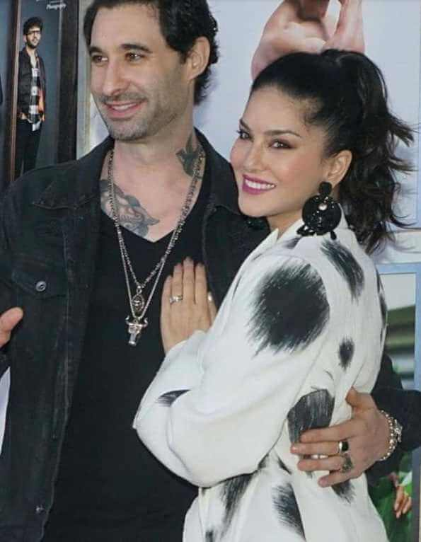 Sunny Leone with her husband