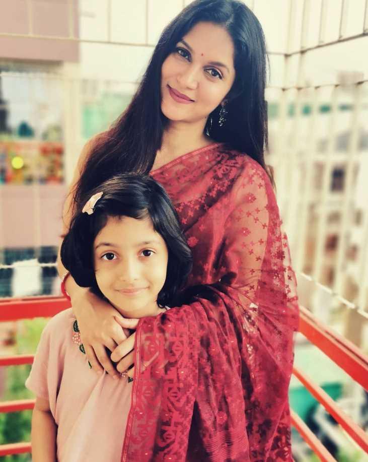 Rafiath Rashid Mithila & her daughter