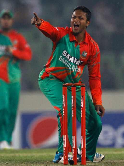 Shakib Al Hasan Cricket Image