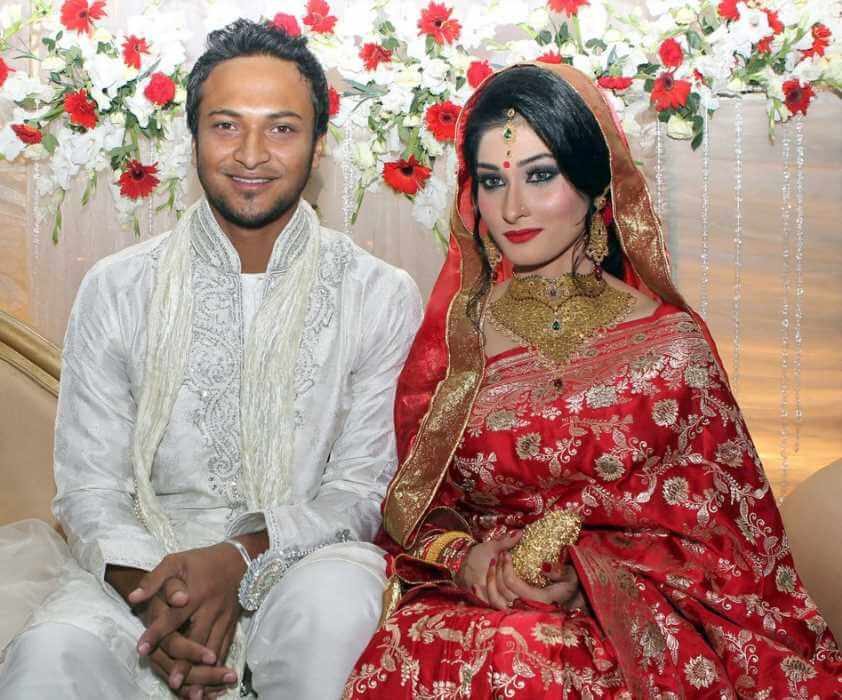Shakib Al Hasan wedding Photo