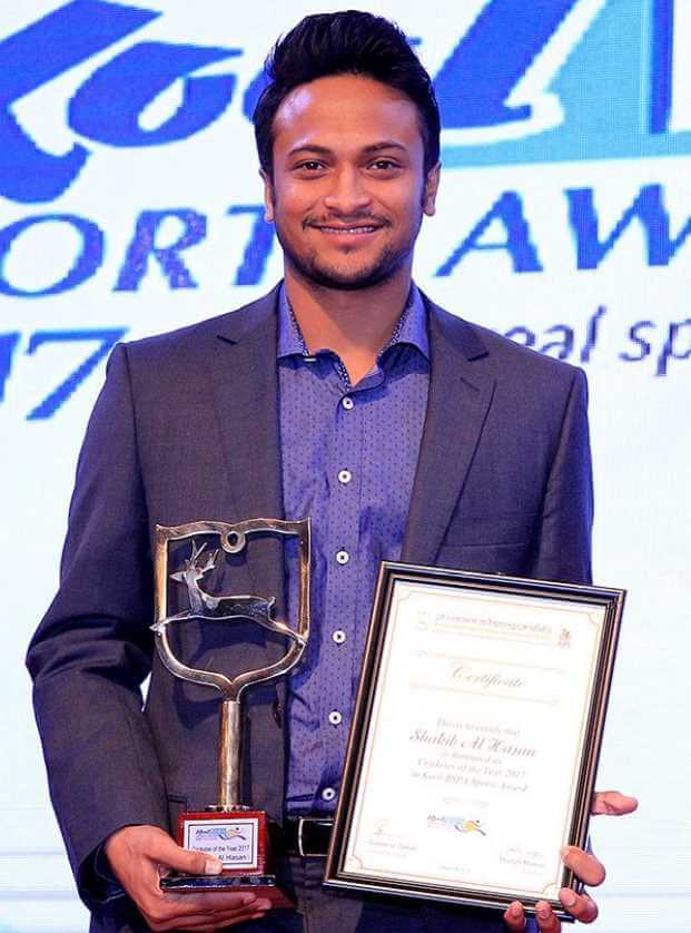 Shakib Al Hasan award Photo