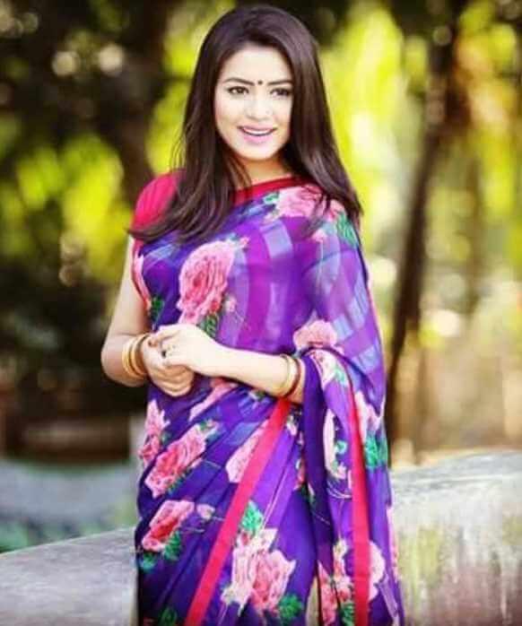 Tasnuva Tisha Saree Photo