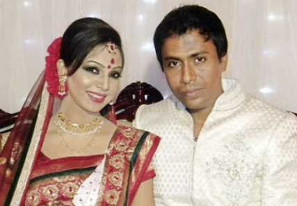 Mahmud Shanto and Sadia Jahan Prova marrage photo