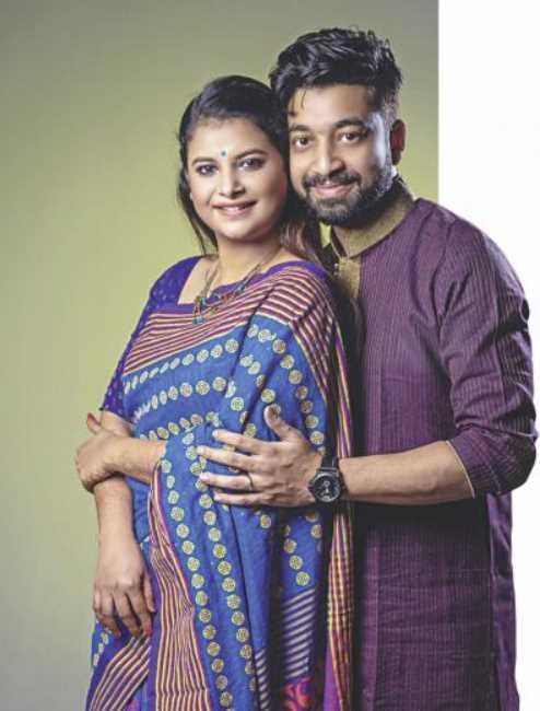 Sabnam Faria boyfriend and husband Harun Ur Rashid Apu photo