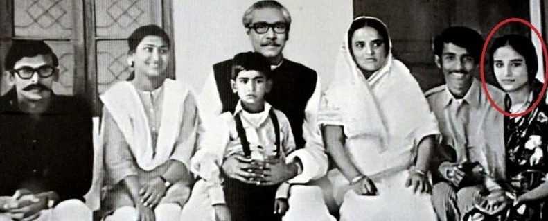 Sheikh Hasina family photo