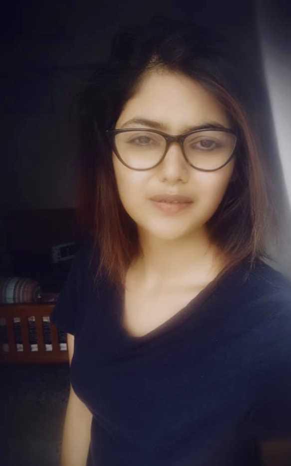 Saayoni Ghosh selfie 2021