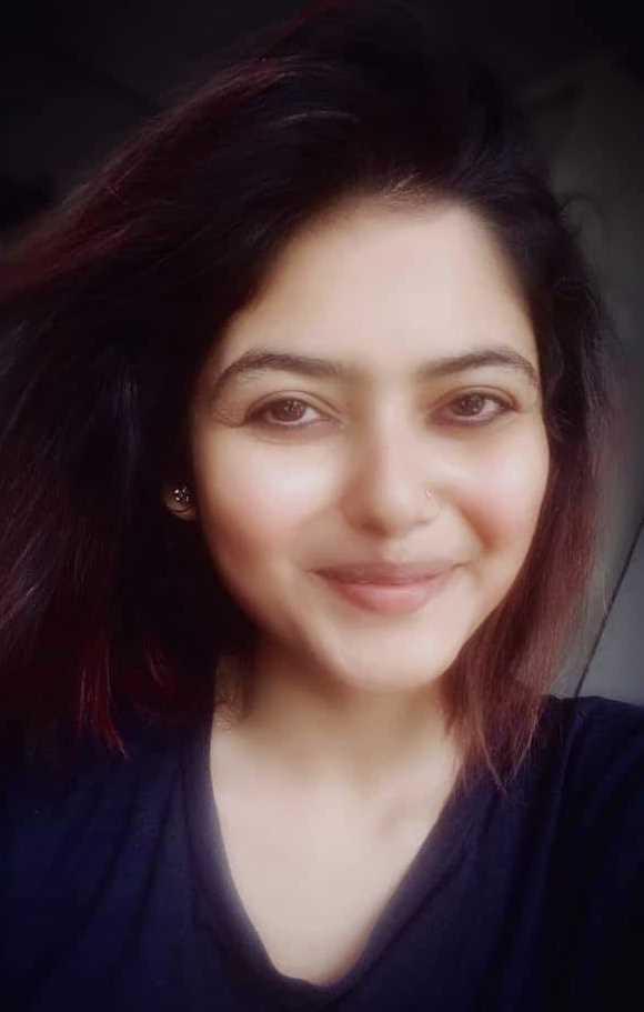 Saayoni Ghosh selfie