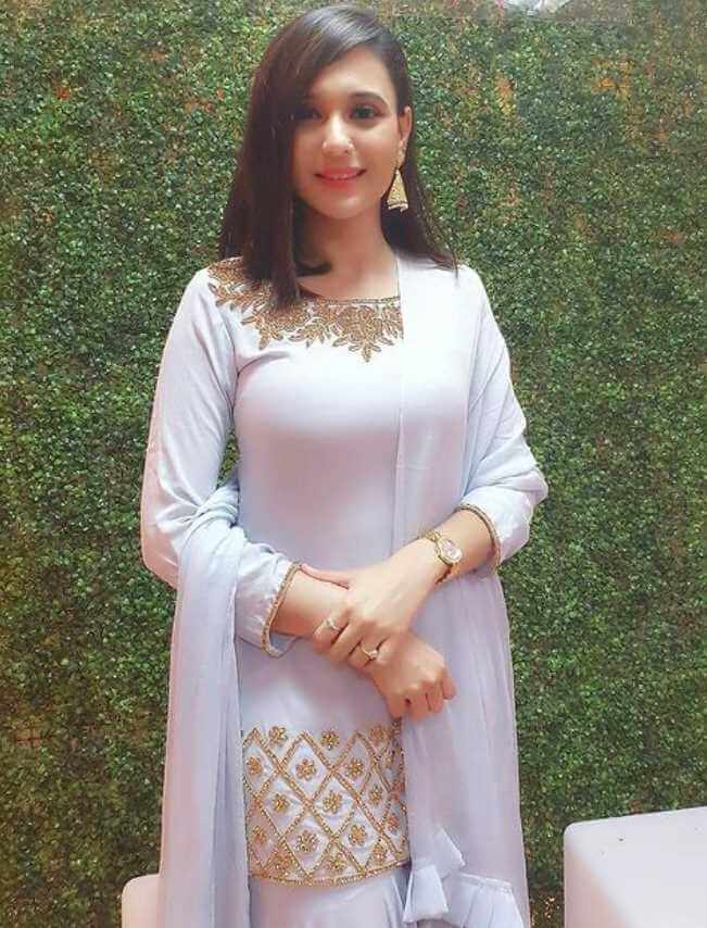 Sabila Nur White Dress Image
