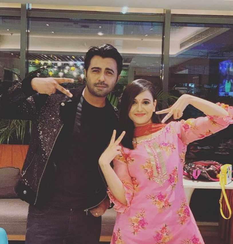 Sabila Nur with Ziaul Faruq Apurba