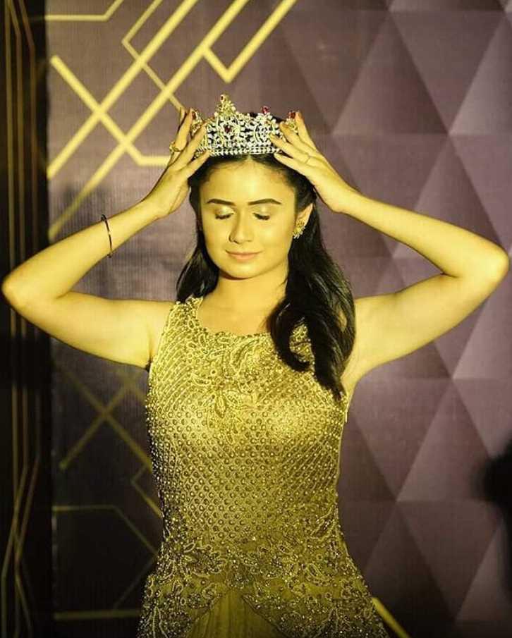 Jannatul Ferdous Oishee photo When she  win Miss World Bangladesh
