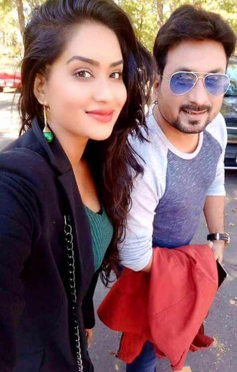 Zakia Bari Mamo with Saju Khadem