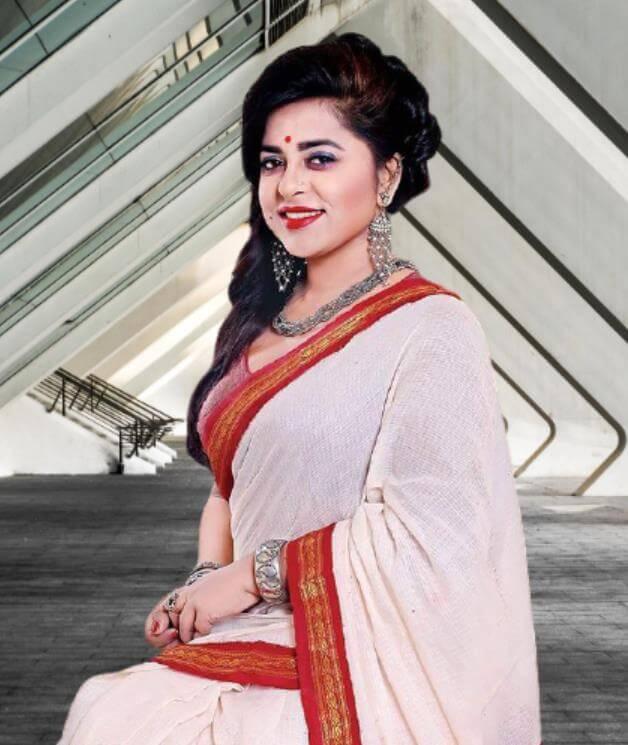 Jyotika Jyoti Saree Pic