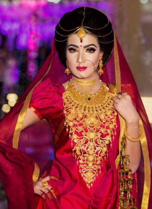 Mahiya Mahi HD Wedding Pic