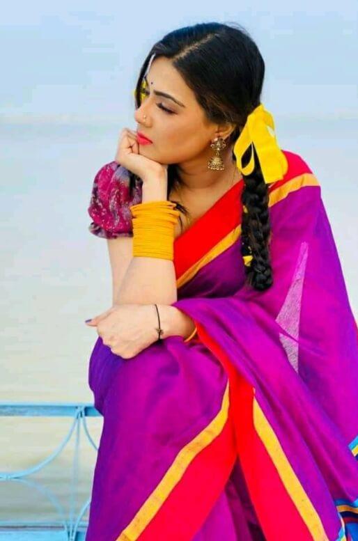 Mahiya Mahi New Saree Photos