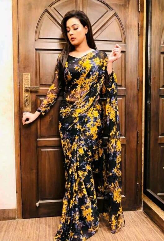 Mahiya Mahi New Styles Saree pic