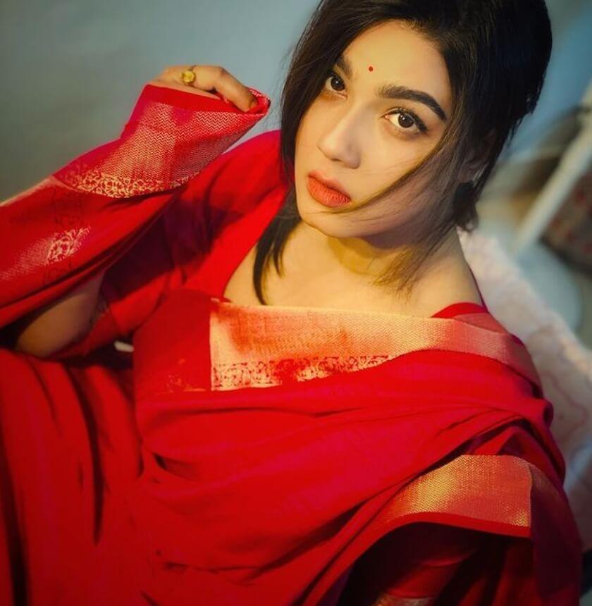 Mahiya Mahi Saree Photo 2021