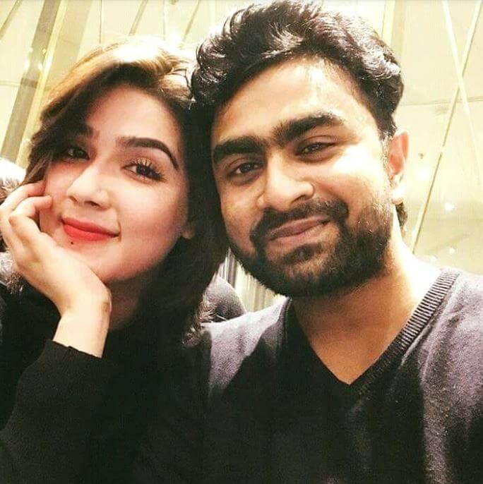 Mahiya Mahi Selfie with Imran
