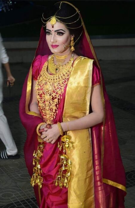 Mahiya Mahi Wedding Pic