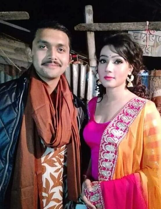 Mahiya Mahi with Arifin Shuvoo