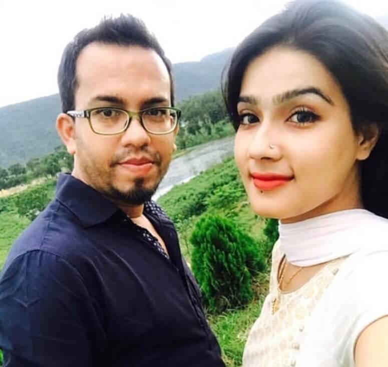 Mahiya Mahi with Mahmud Parvez Opu