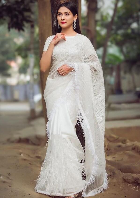 Mehazabien Chowdhury HD Saree Picture