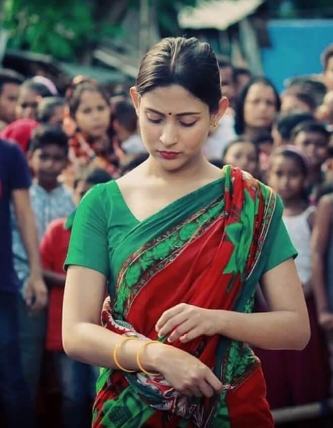 Mehazabien Chowdhury Saree Image
