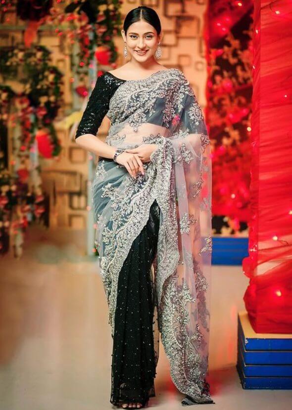 Mehazabien Chowdhury Saree Profile