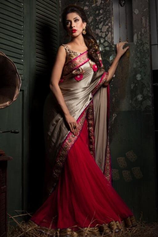 Mehazabien Chowdhury Style Saree Photo
