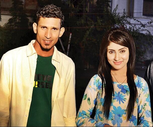 Mehazabien Chowdhury with Nasir Hossain