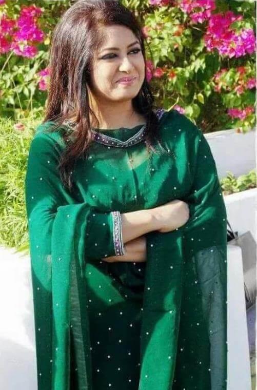 Moushumi Salwar Kameez Styles Photo