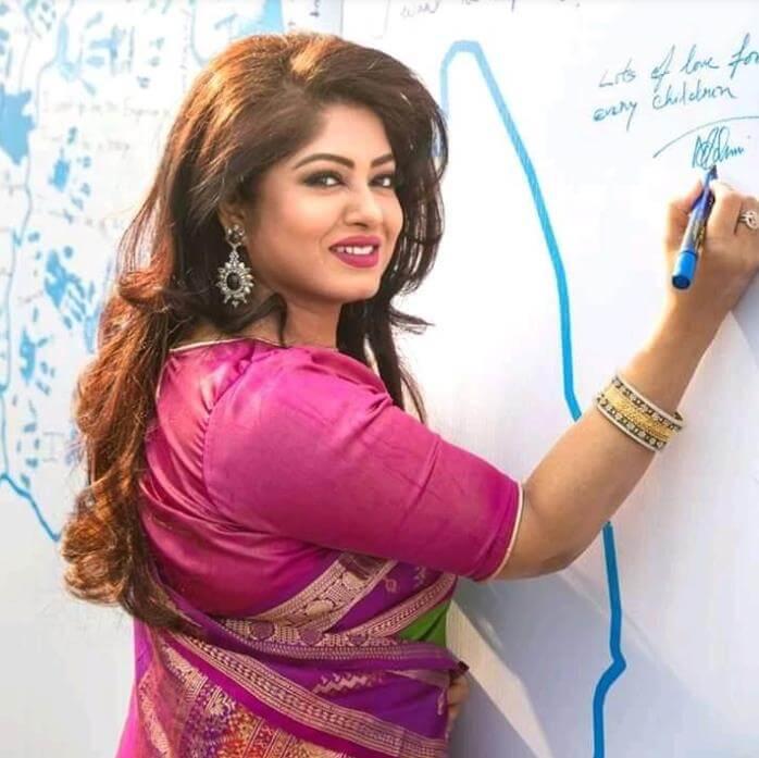 Moushumi at Writing Image