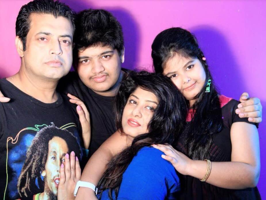 Moushumi family photo