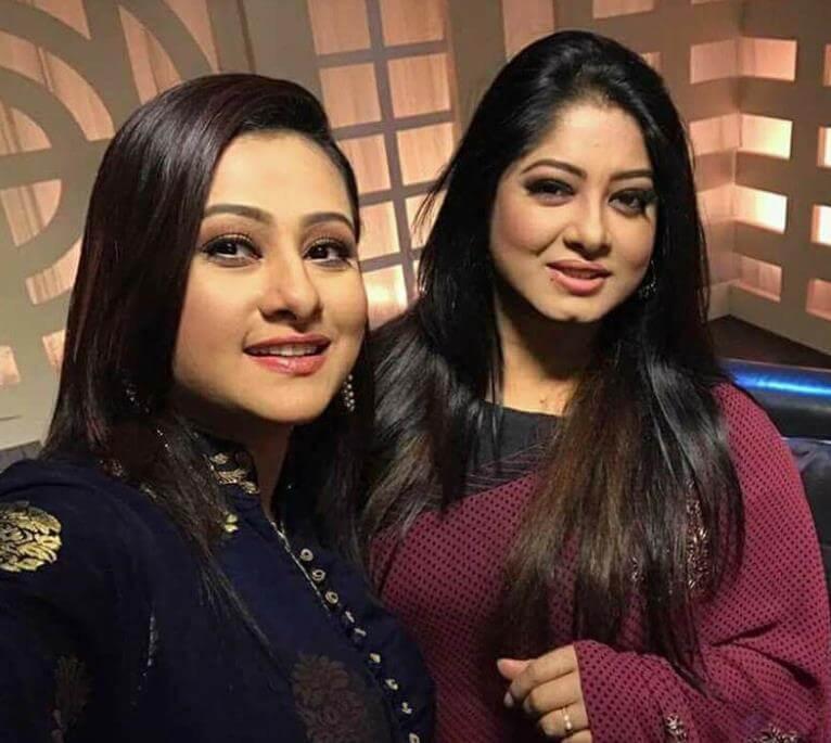 Moushumi with Purnima Photo