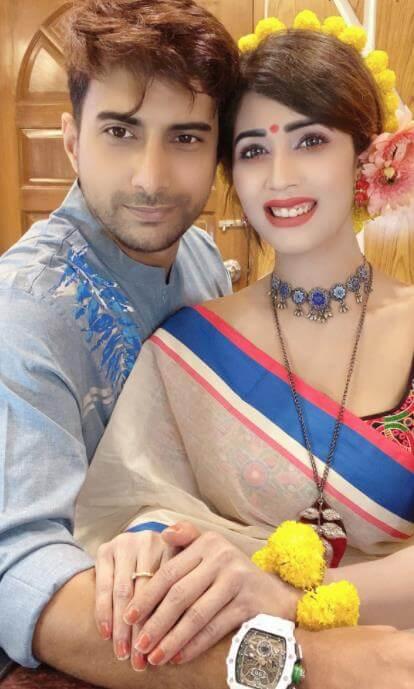 Naila Nayem with her 2nd Husband