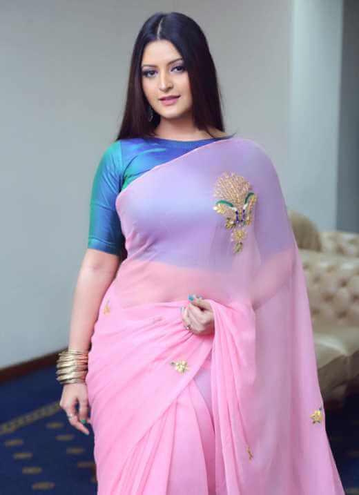 Pori Moni New Saree Photo