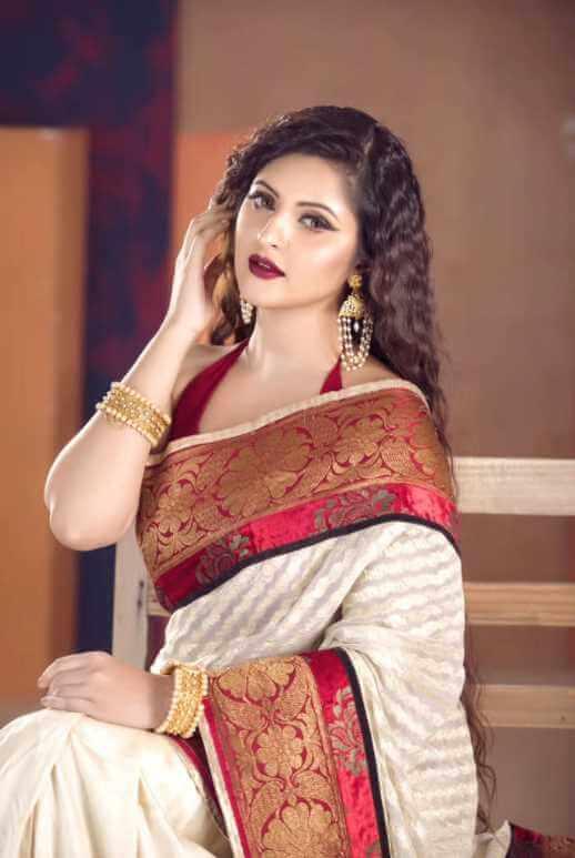 Pori Moni Style Saree Photo