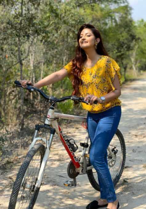 Pori Moni at bicycle pie