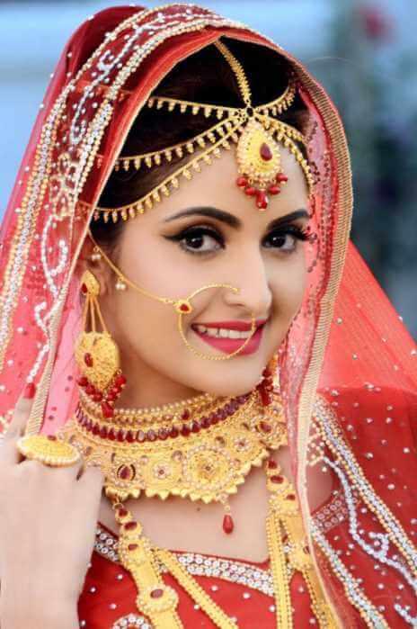 Pori Moni marriage photo
