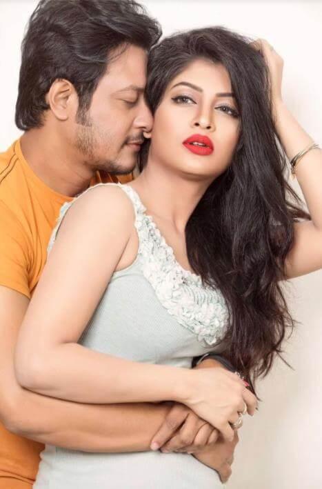 Sarika Sabrin with Nirob