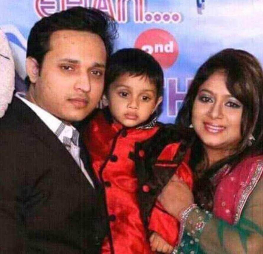 Shabnur Family Photo