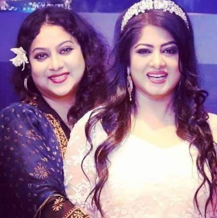 Shabnur with Moushumi