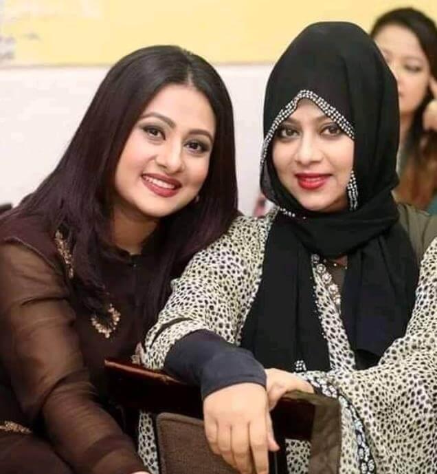 Shabnur with Purnima