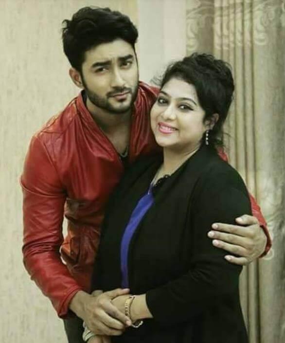 Shabnur with Ziaul Roshan
