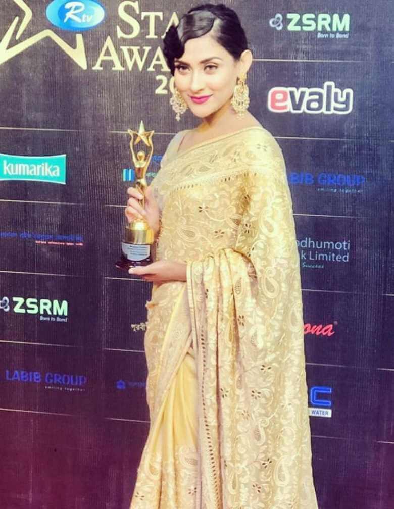Mehazabien Chowdhury Award Pic